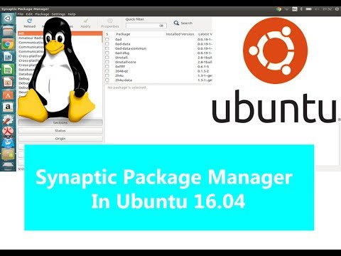 How To Install Synaptic Package Manager In Ubuntu 16 04