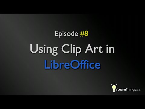 Using Clip Art with LibreOffice