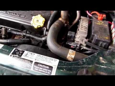 Chrysler Sebring '96 to '00 RADIATOR replace