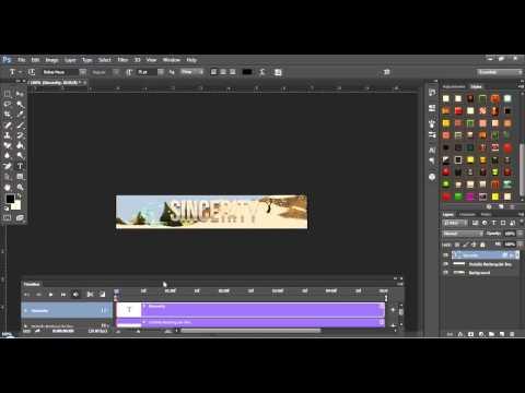 Adobe Photoshop CS6   Animated Fading Texts