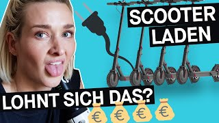 Selbstversuch Juicer: E-Scooter aufladen – lohnt sich das? || PULS Reportage