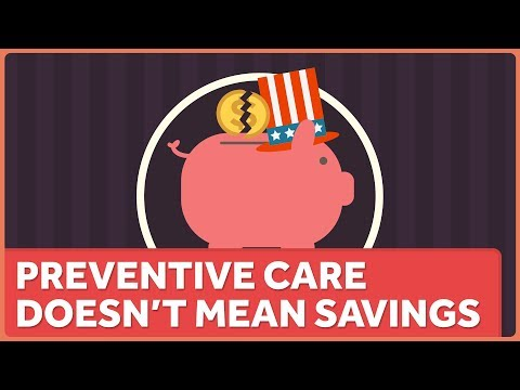 Preventive Care is Good, Even Though It's Not Saving Money