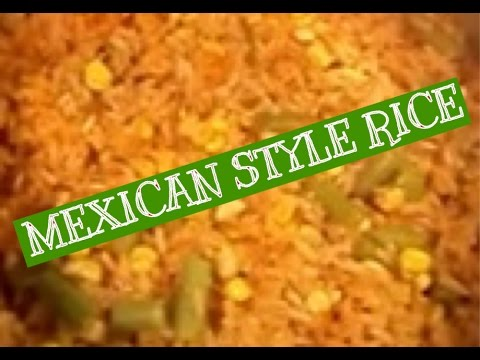 Mexican Style Rice - Arroz a la Mexicana