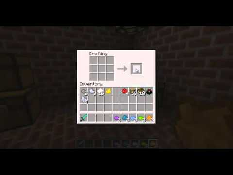 Minecraft crafting project #2-how to craft all dyes