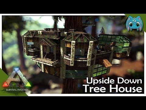 Upside Down Tree House  :: ARK: Building w/ Fizz