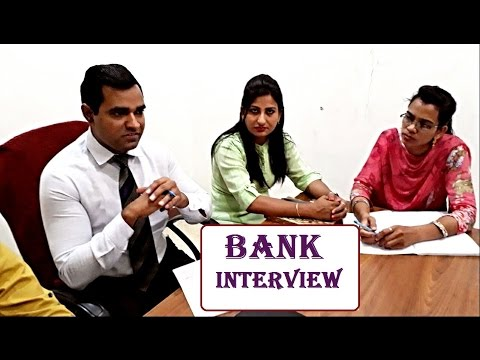 bank interview video