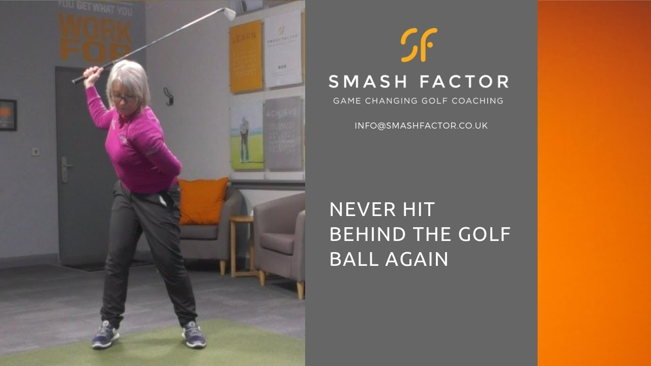 NEVER hit BEHIND THE GOLF BALL again with this drill