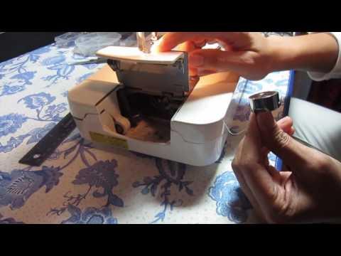 How To Wind A Bobbin On A Juki Sewing Machine