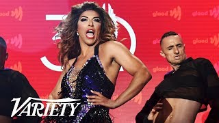Shangela Performs A Beyoncé Medley at GLAAD Media Awards
