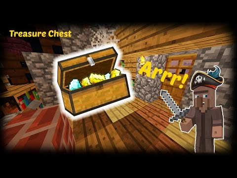 Minecraft - How to make a Treasure Chest