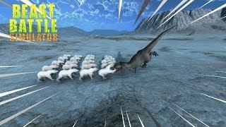 URSOS VS T-REX- Beast Battle Simulator.