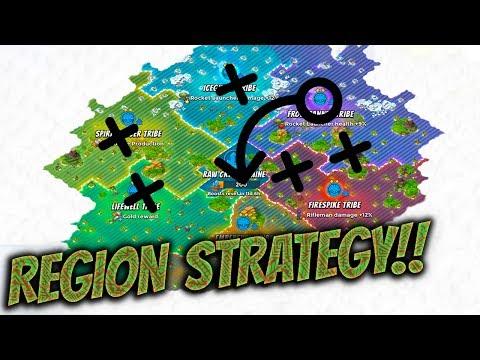 Boom Beach - Tribal Regions Strategy