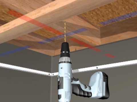 HG Grid Suspended Ceiling Installation