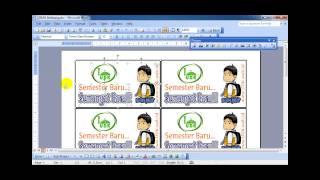 Cara Membuat Kupon Jalan Sehat Di Microsoft Word - Membuat Itu