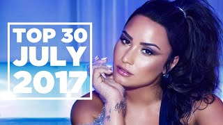 Top 30 Songs Chart | July 29, 2017 | 洋楽 ヒット チャート 最新