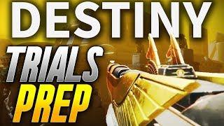Destiny 2: TRIALS OF THE NINE PREPARATION! (Destiny 2 Leviathan Raid Gameplay)