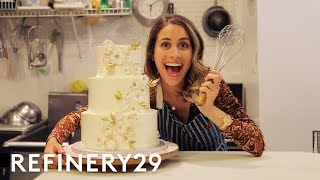 lucie fink tries out wedding cake decorating for a day lucie for hire refinery29