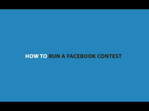 Free Facebook Contest App for Running Competitions