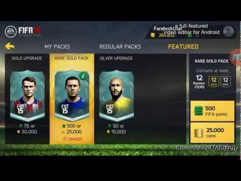 Fifa 15 Android-Ios Glitch wow