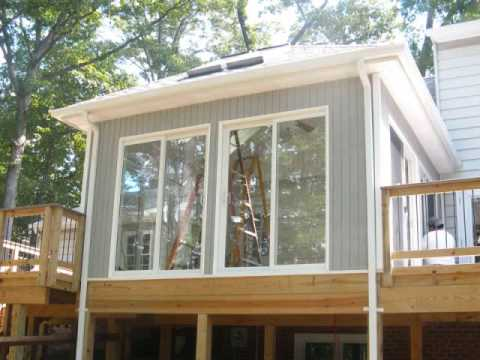 Great Pictures Of Decks, Screen Rooms, and Sunrooms In Northern Virginia.