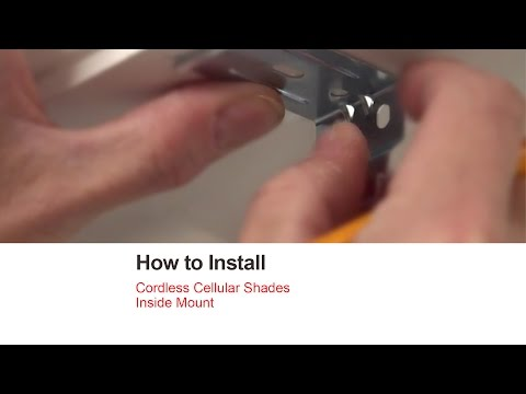Bali Blinds | How to Install Cordless Cellular Shades - Inside Mount