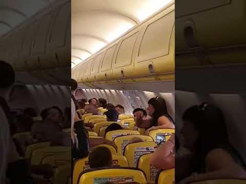 Pasajera borracha, vuelo Alicante