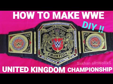 How To Make Wwe United Kingdom Championship