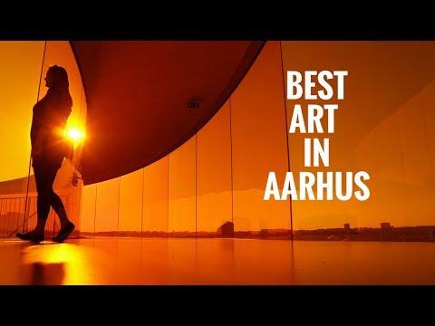 Top 3 Art Galleries in Aarhus Denmark I Artist Studio, Gallery V58 & Aros Panorama Rainbow