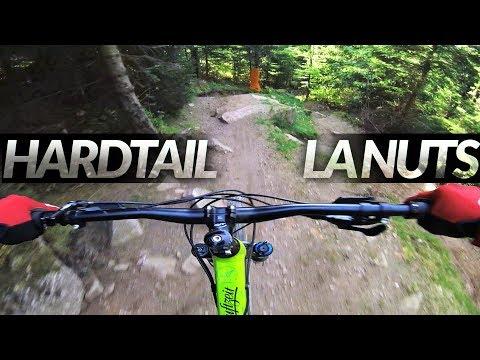 HARDTAIL downhill on LA NUTS - Bikepark LAC BLANC -subtitled-