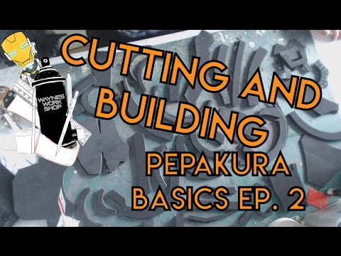Pepakura basics, cutting and building