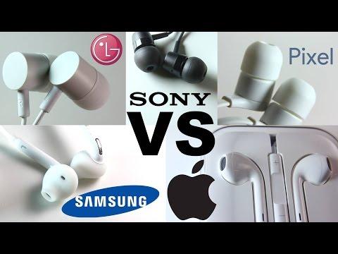 Earphone Battle - Apple vs Pixel vs Sony vs Samsung vs LG - Which is the best?