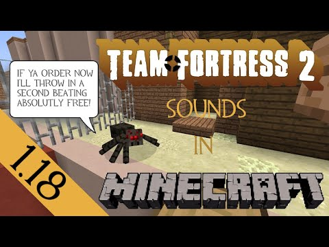 Minecraft TF2 sound resource pack for 1.11 [Updated 15-01-2017]