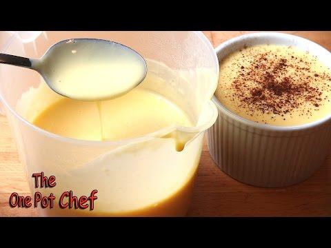 Classic Vanilla Custard | One Pot Chef