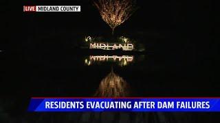Midland County dam failures