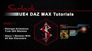 FBX - Unreal Engine 4 - Motionbuilder - 3ds Max - Daz Studio Updated