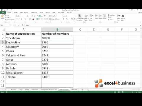 How to Position Cells in the Center of an Excel Worksheet