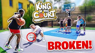 I BROKE HOOPER HOOPER'S ANKLES! 2HYPE Basketball King Of The Court!