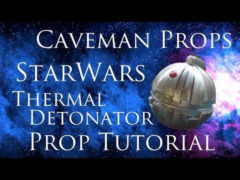 Starwars Thermal Detonator prop tutorial build