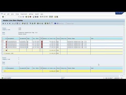 SAP ABAP : Adding Fields to  Transaction FBL1N , FBL3N &  FBL5N