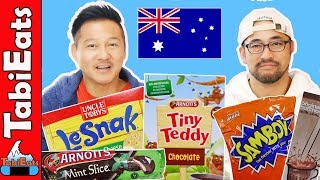 Trying Australian Snacks