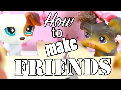 LPS - How to make friends in school! (Back To School VIDEO)