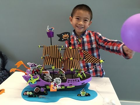 Halloween Pirate Ship Handcraft Decoration