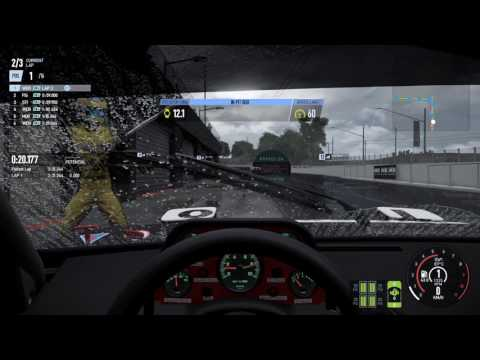 Project Cars 2. Gameplay, manual pit-stop. BMW M1 ProCar
