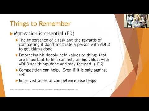 264  Addressing Adult ADHD