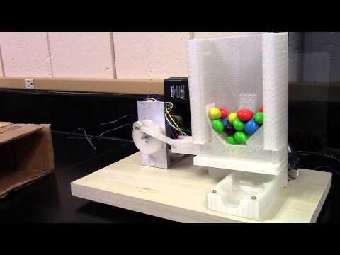 Arduino UNO Gumball / M&M machine