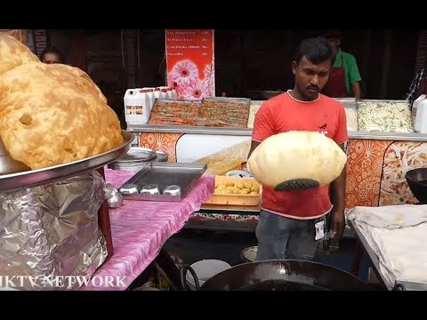 Chole Bhature Poori || Street Food