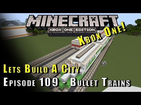 Minecraft :: Lets Build A City :: Bullet Trains :: E109