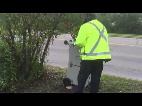 New Portable Photo Radar Trap ... Closer Look!!! Edmonton