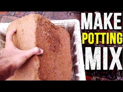 How to Make Potting Mix? - Make Soil WITHOUT Soil - (Urdu|Hindi)