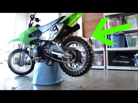 BUILDING CUSTOM DIRTBIKE!!